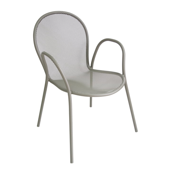 Ronda le fauteuil gris vert par Emu