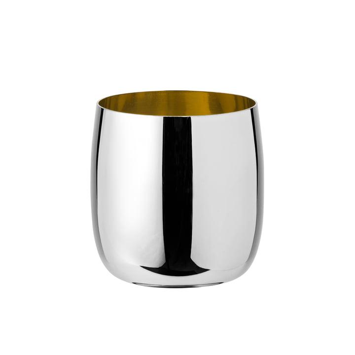 Verre à vin Foster 0,2L par Stelton en acier inoxydable / doré