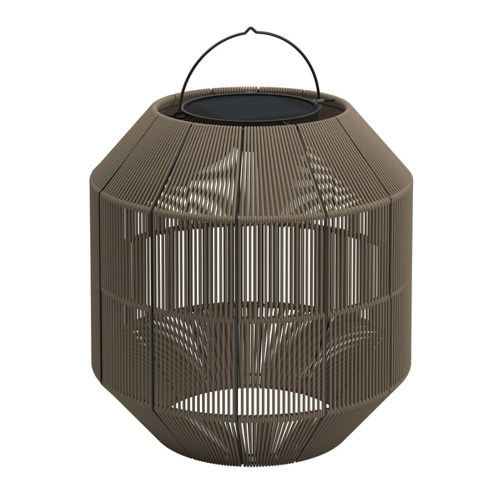 Gloster - Lampe solaire Ambient Nest, fauve