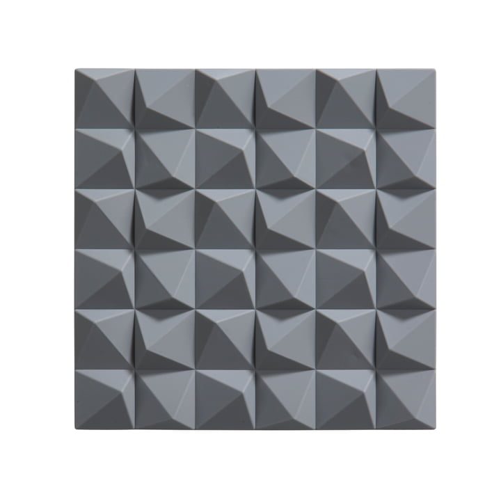 Dessous de plat Origami Mix par Zone Denmark en gris clair