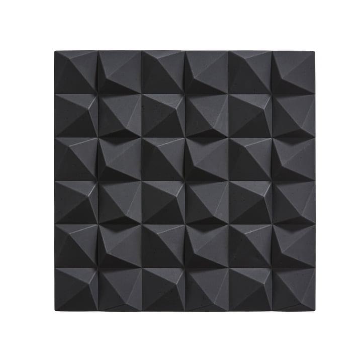Dessous de plat Origami Mix par Zone Denmark en noir