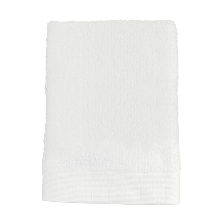 La serviette de bain Classic de Zone Denmark, 70x140cm, blanc