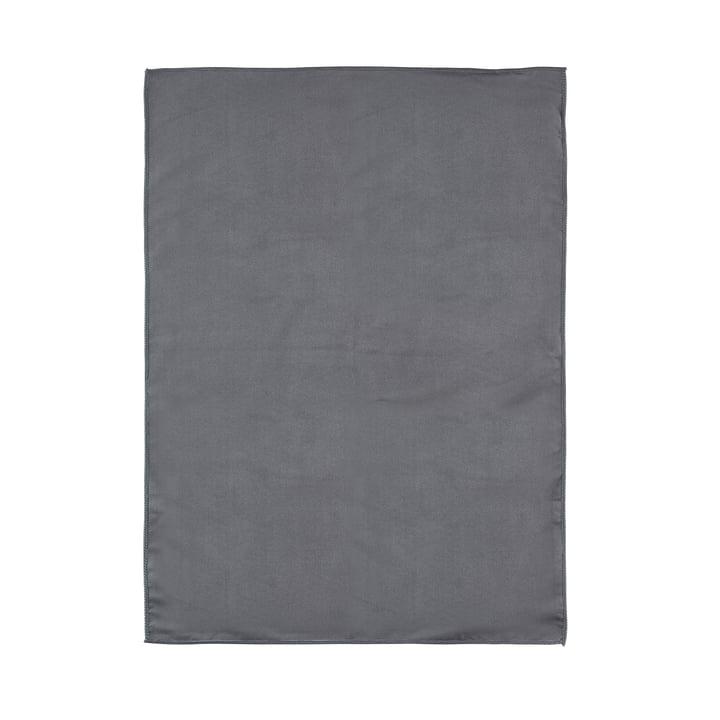 Le torchon à vaisselle microfibres de Zone Denmark, 70x50cm, gris clair