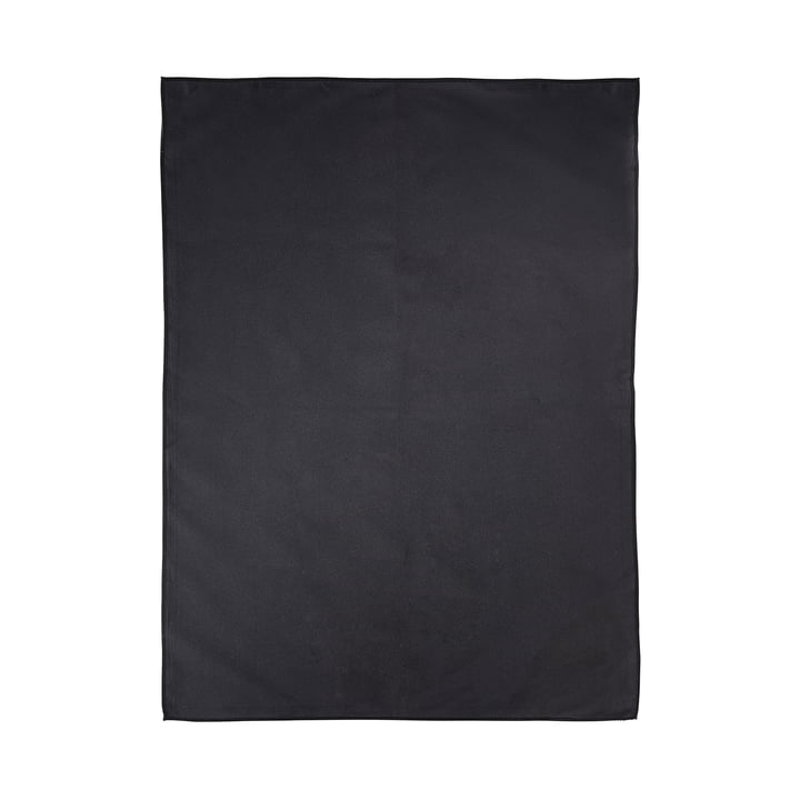 Le torchon à vaisselle microfibres de Zone Denmark, 70x50cm, noir