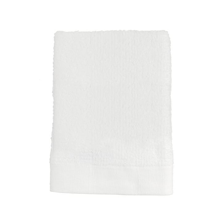 La serviette Classic de Zone Denmark, 100x50cm, blanc
