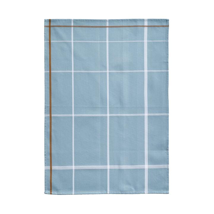 Torchon à vaisselle 70x50cm par Zone Denmark en bleu / blanc