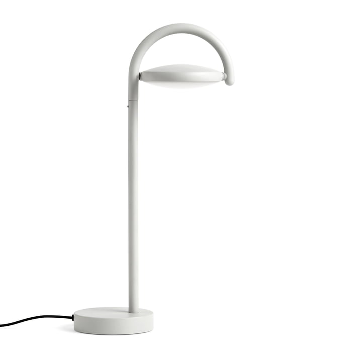 Lampe de table LED Marselis par Hay en gris clair (RAL 7035)