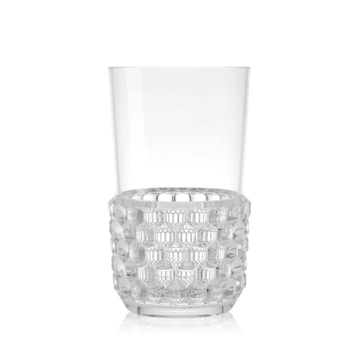 Le gobelet Jellies de Kartell, Ø 8,5 x H 15 cm, transparent
