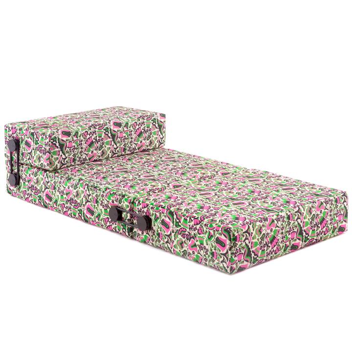 Le canapé convertible Trix de Kartell en tulipani