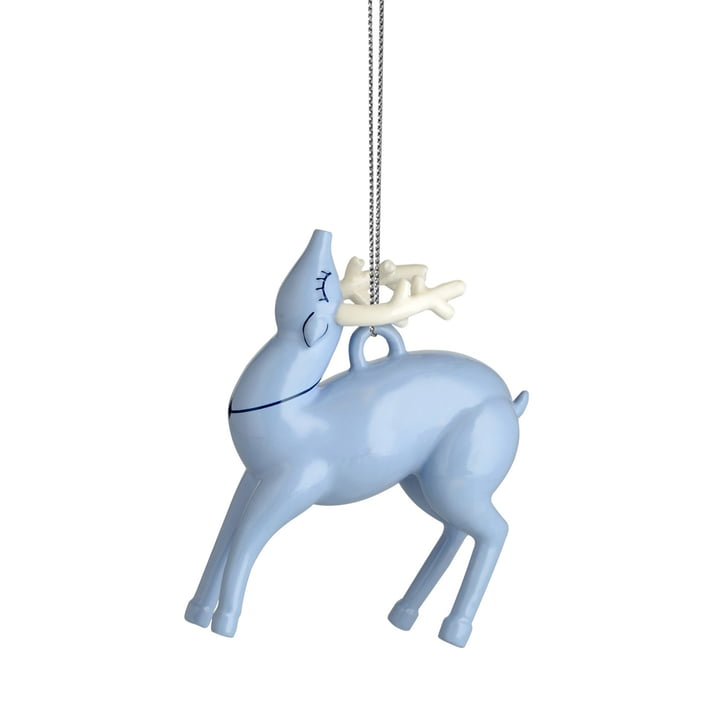 Alessi - Décoration de Noël Blue renne