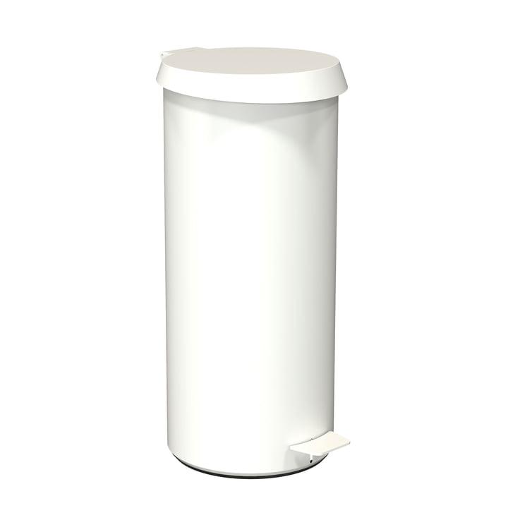 Poubelle à pédale 550 en blanc de Frost