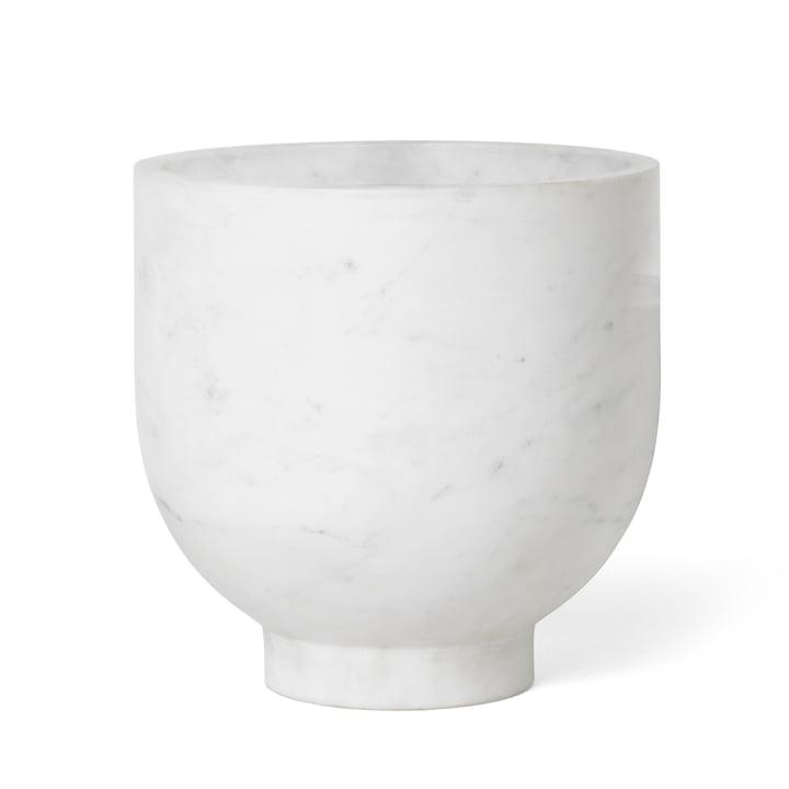 Refroidisseur de champagne Alza de Ferm Living in marble white