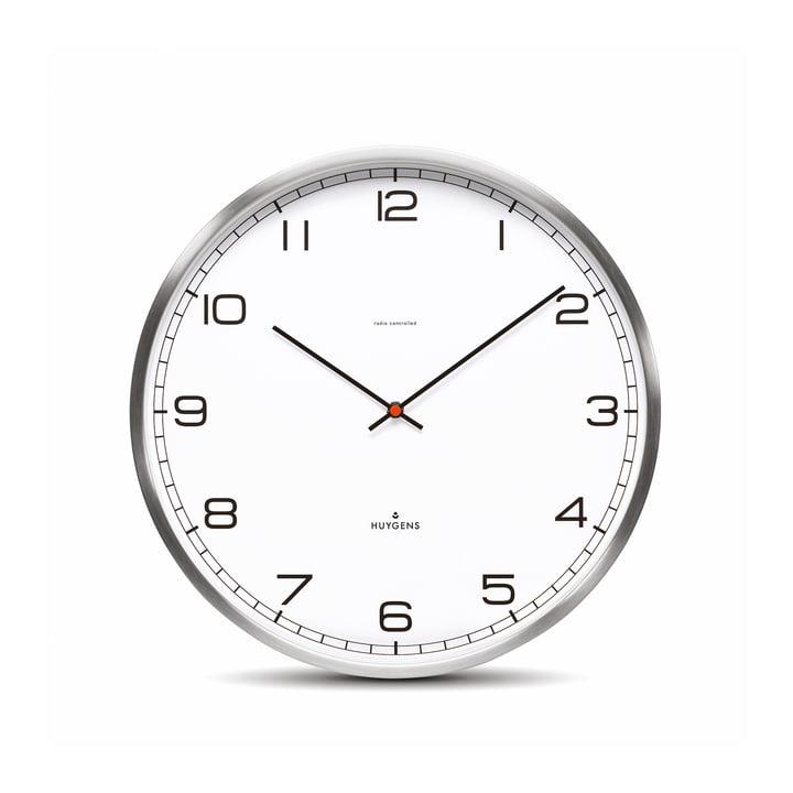 Horloge murale radio One35rc de Huygens, cadran (avec chiffres)