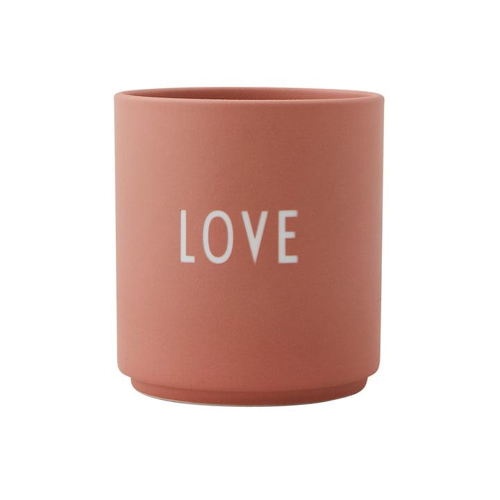 Lettres d'amour en porcelaine AJ Favourite Cup Love by Design