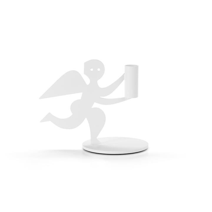 Bougeoir ange de Vitra en blanc