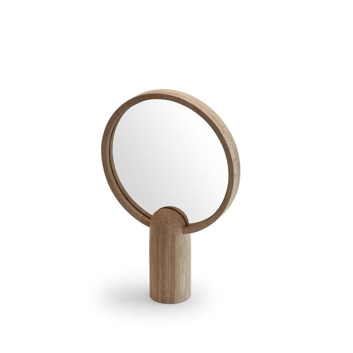 Miroir Aino petit de Skagerak en chêne