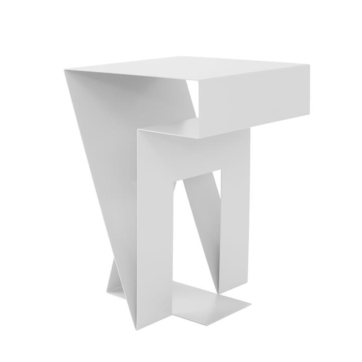 Table ronde de Neumann de Objekte unserer Tage en blanc