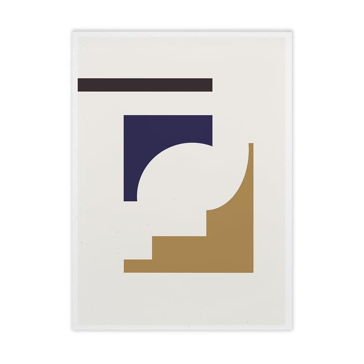 Shapes of Colour 02 de Paper Collective , 50 x 70 cm