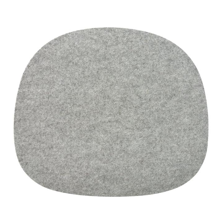 Coussin d'assise en feutre pour chaises Vitra en gris de la collection Connox