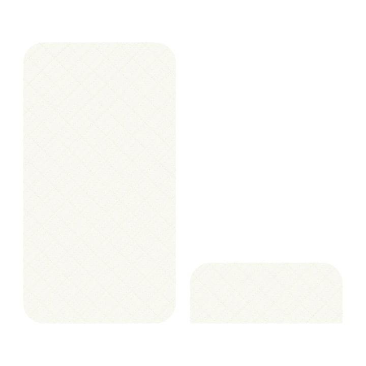 Matelas pour les jeunes & pousses Sebra en blanc crème