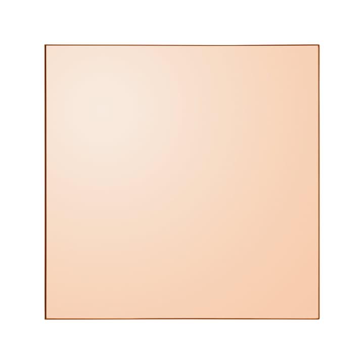 Miroir mural Quadro, 90 x 90 cm en ambre de AYTM