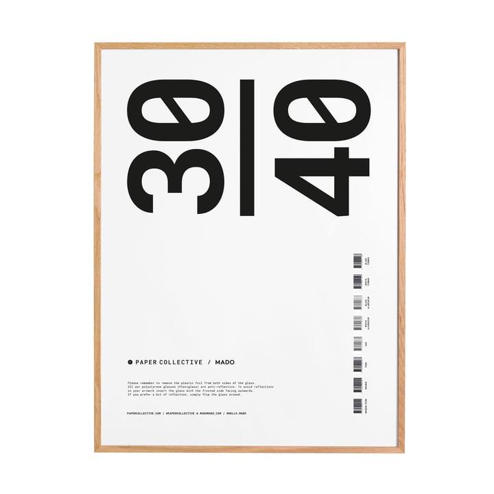 Cadre photo 30 x 40 cm Paper Collective en chêne