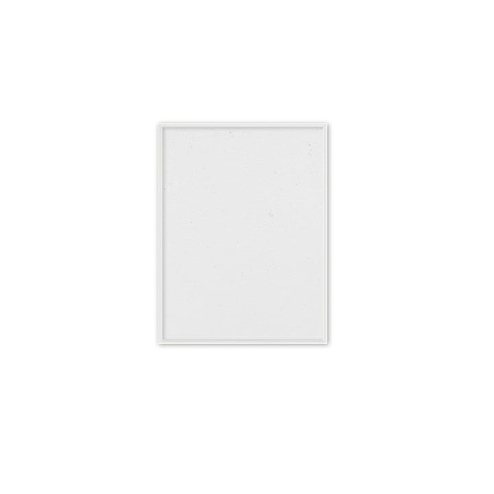 Cadre photo 30 x 40 cm Paper Collective en aluminium blanc mat