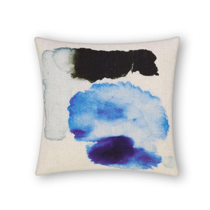 Coussin Blot de Tom Dixon, 45 x 45 cm en multi bleu