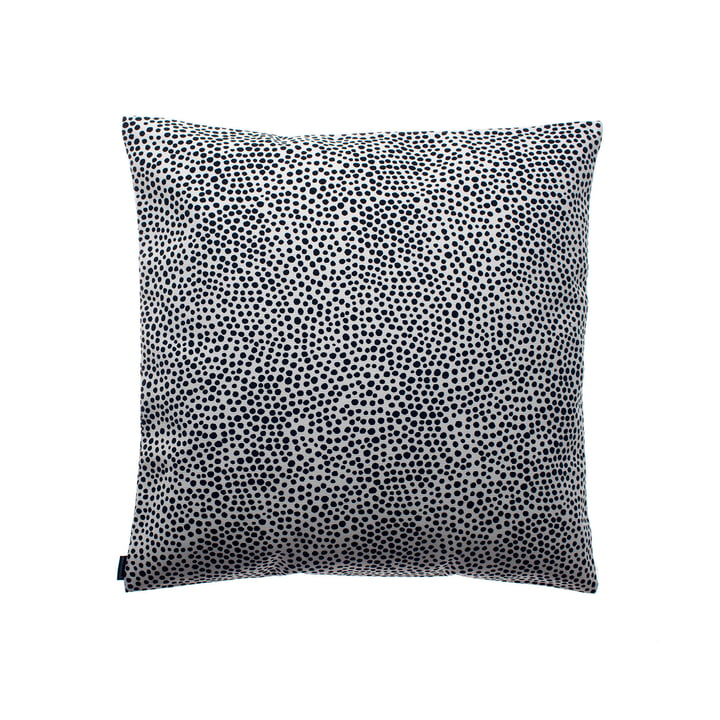 Pirput Housse de coussin Parput de Marimekko, 50 x 50 cm en noir / blanc