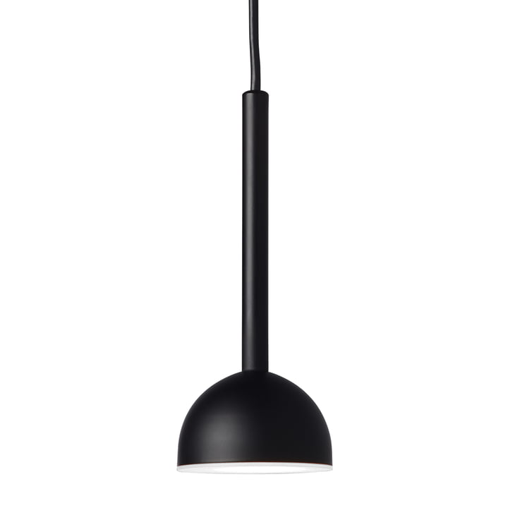 Suspension LED Blush Northern, Ø 9 x H 22 cm en noir