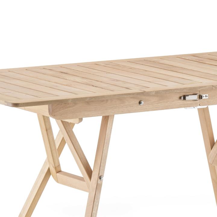 Fiam - Robin 140 table en bois, robinia