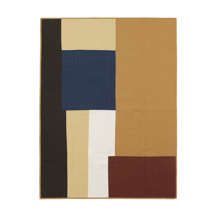 Shay Patchwork patchwork patchwork de ferm Living in moutard