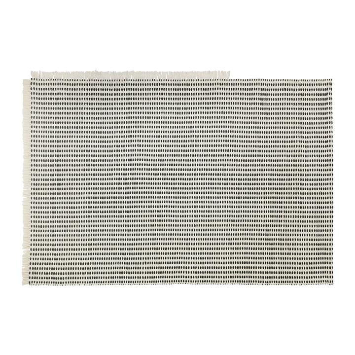 Tapis d'extérieur, 140 x 200 cm en blanc cassé / bleu de ferm Living