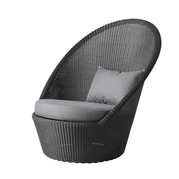 Set de coussins pour chaise longue Kingston (5448) de Cane-line dans gris clair