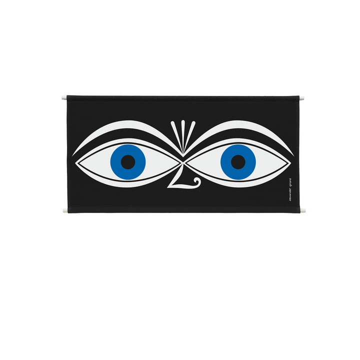 Environmental Wall Hanging Wall Panel 83 x 46,6 cm Eyes blue by Vitra