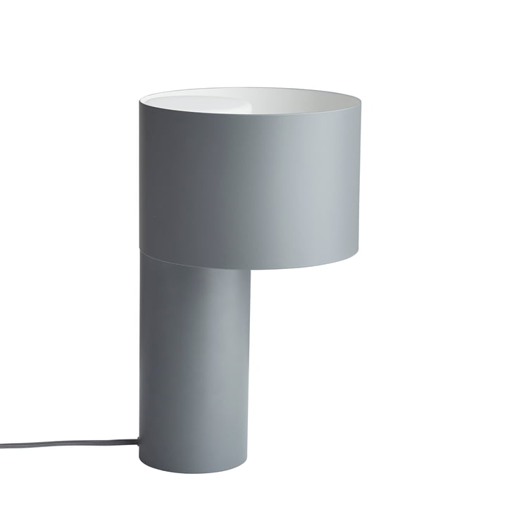Lampe de table Tangent de Woud en gris froid