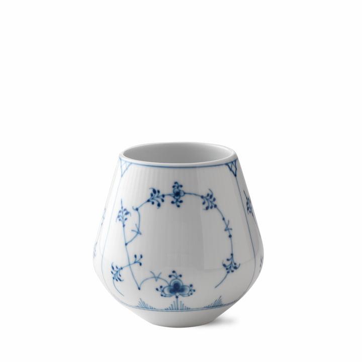Vase à moules nervuré petit H 12 cm du Royal Copenhagen