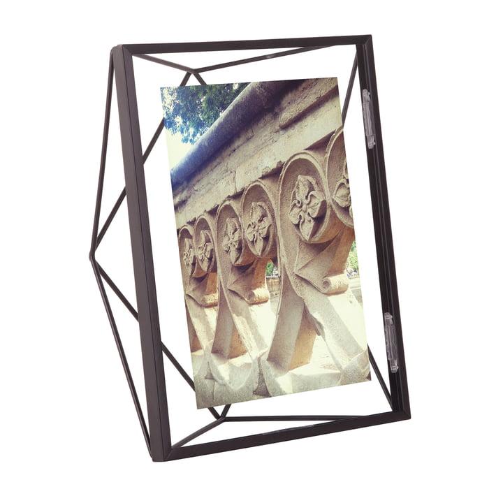 Cadre prisme 10 x 15 cm en noir par Umbra