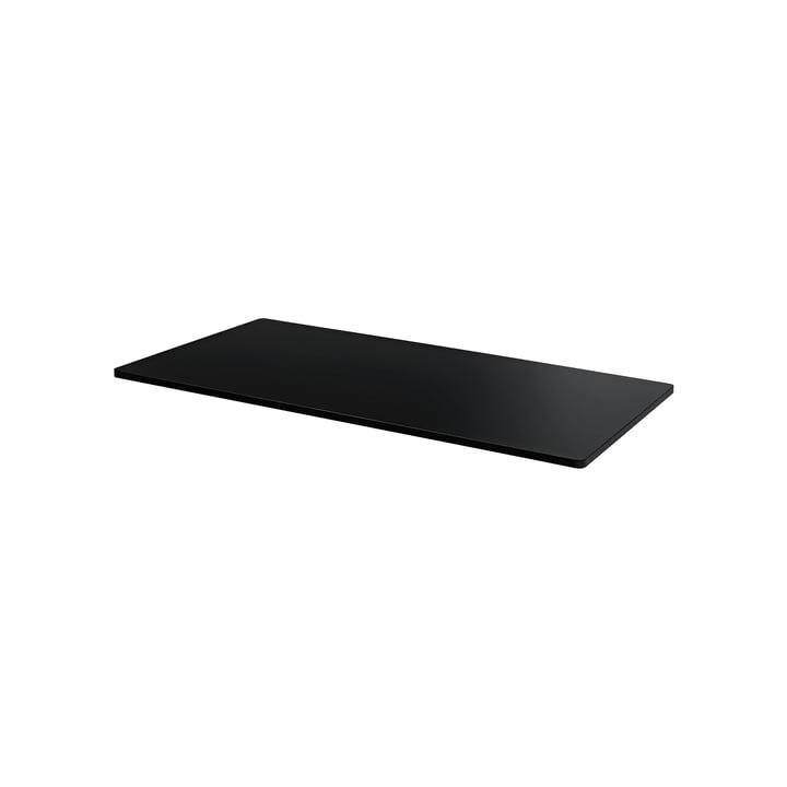 Plaque de recouvrement pour fil Panton 34,8 x 18,8 cm de Montana en MDF noir