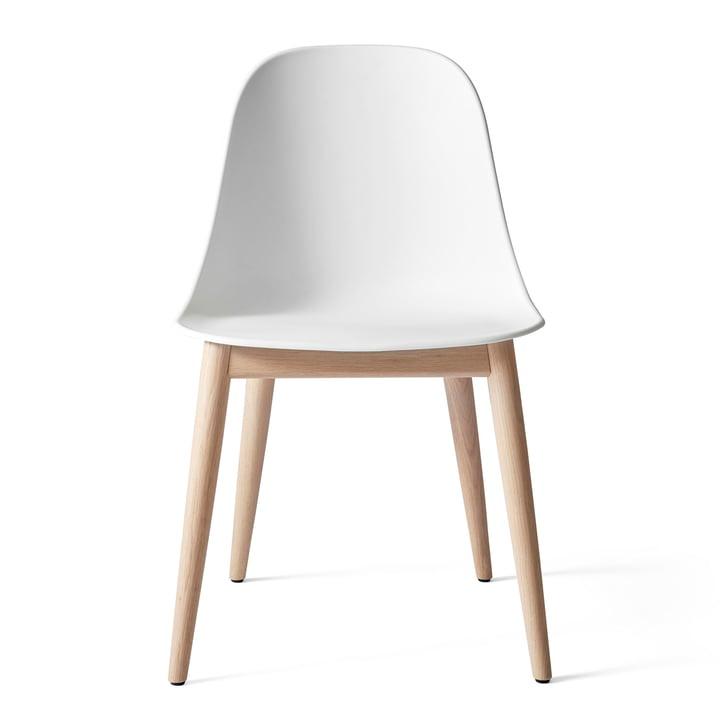 Harbour Dining Side Chair en chêne naturel / blanc par Menu