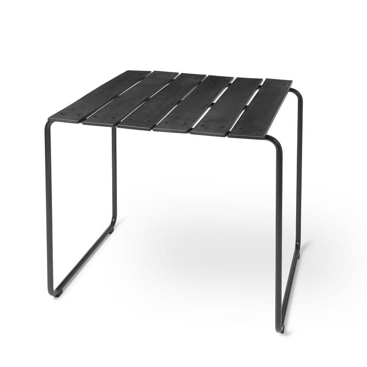 Table océanique 70 x 70 cm de Mater en noir