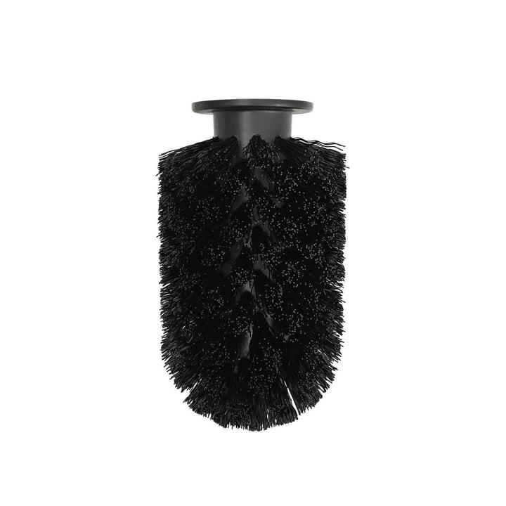 Tête de brosse de rechange pour brosse de toilette Ballo de Normann Copenhagen en noir