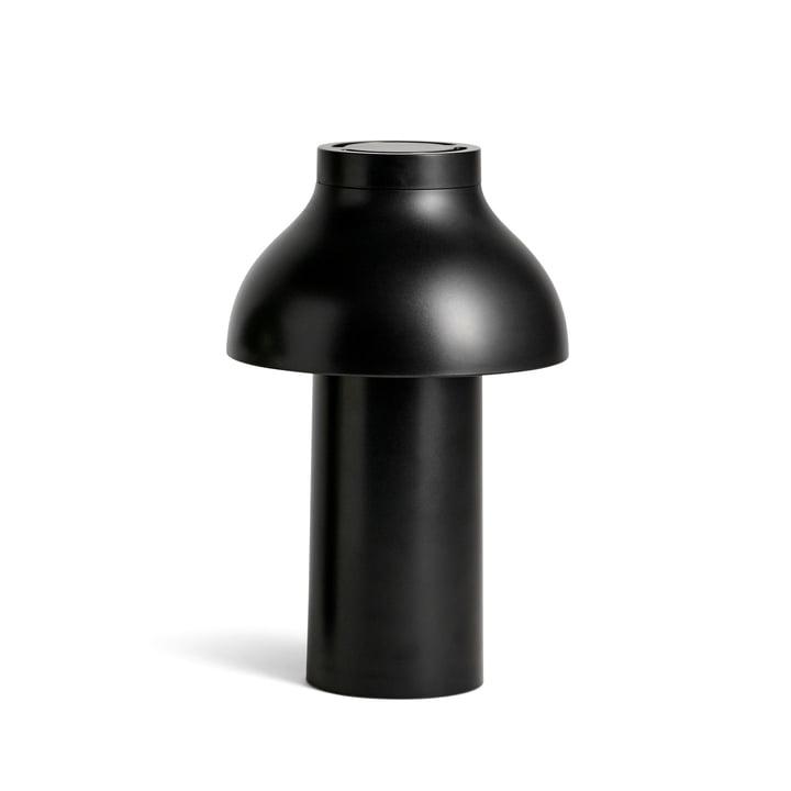 Luminaire LED portable pour PC de Hay en noir doux (RAL 9004)