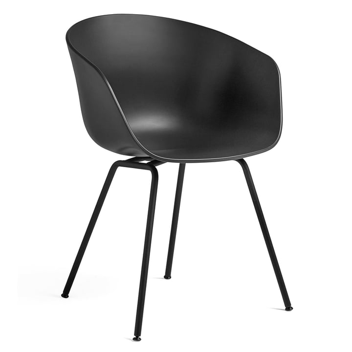 A propos de la chaise AAC 26 by Hay en acier noir / noir