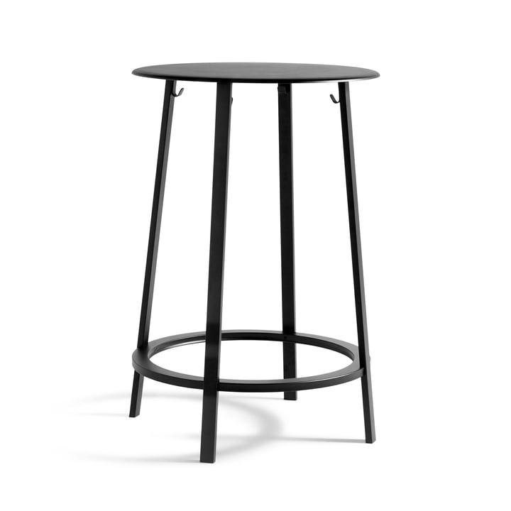 Revolver table bar Ø 70 x H 105 cm à partir de Hay en noir