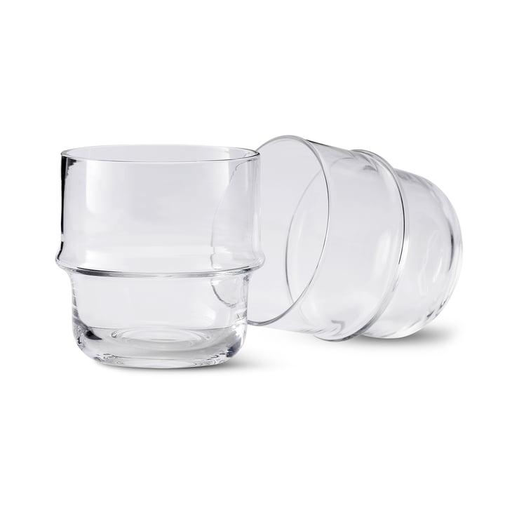 Unda verre (ensemble de 2) en clair de Design House Stockholm