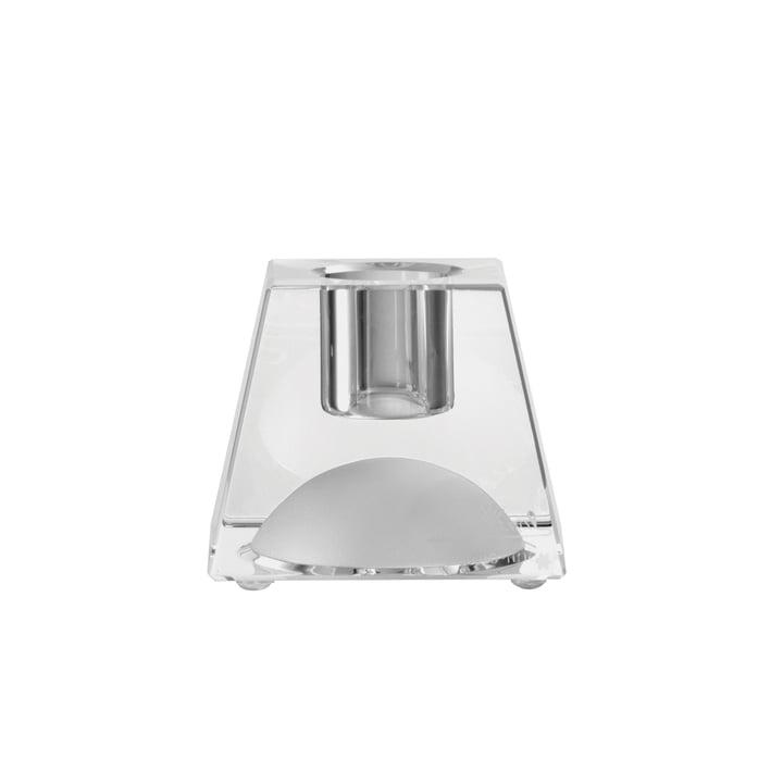 Chandelier en verre feuilleté à 5 cm de Rosenthal en clair