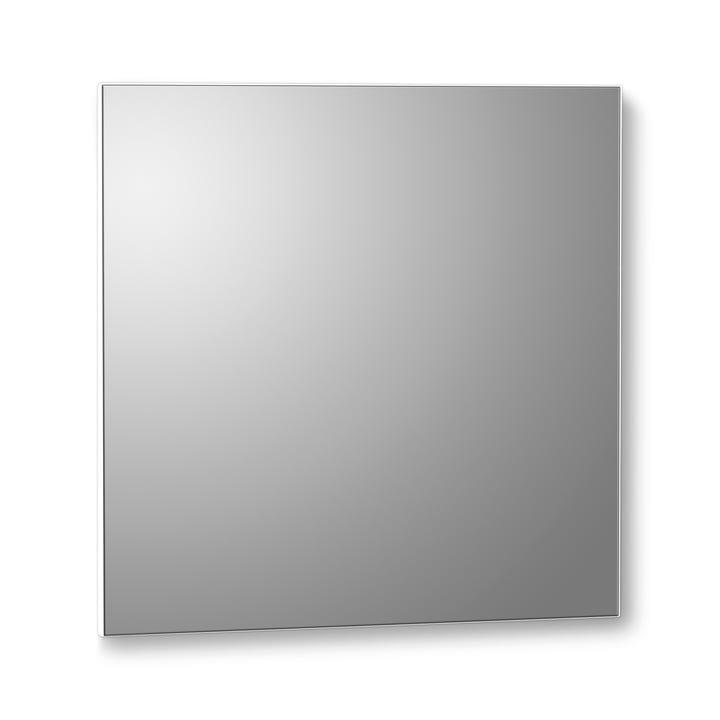 VertiMirror miroir mural 30 x 30 cm par Verti Copenhagen en blanc
