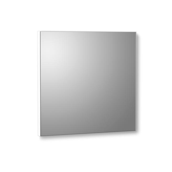 VertiMirror Mini miroir mural 15 x 15 cm de Verti Copenhagen en blanc