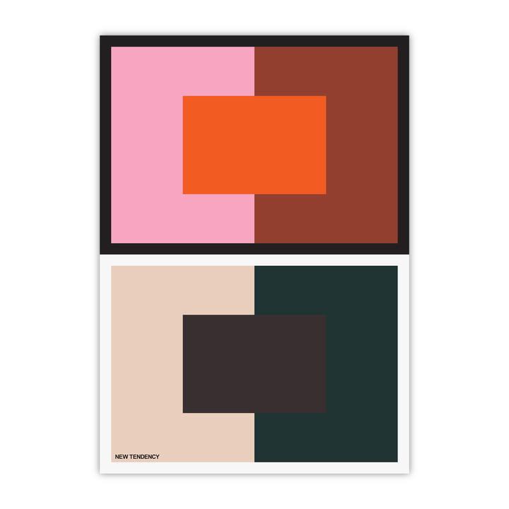 Redéfinir l'affiche naturelle 60 × 80 cm de New Tendency